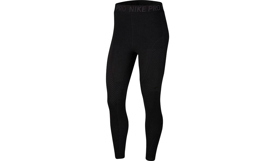 Women's Nike Pro HyperWarm Tights - Color: Black/Black Size: XS, Black, large, image 6