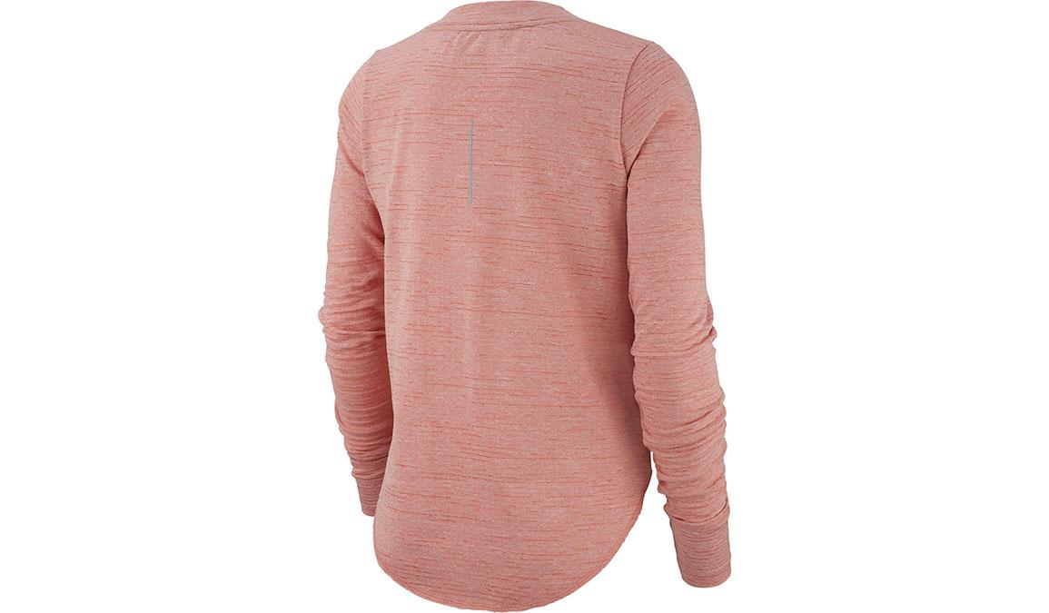 Women's Nike Sphere Element Crew Top - Color: Pink Quartz/Reflective Silver Size: XS, Pink Quartz/Reflective Silver, large, image 2