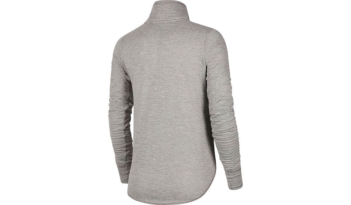 Women's Nike Sphere Element Half Zip Top - Color: Particle Grey/Reflective Silver Size: XS, Particle Grey/Reflective Silver, large, image 2