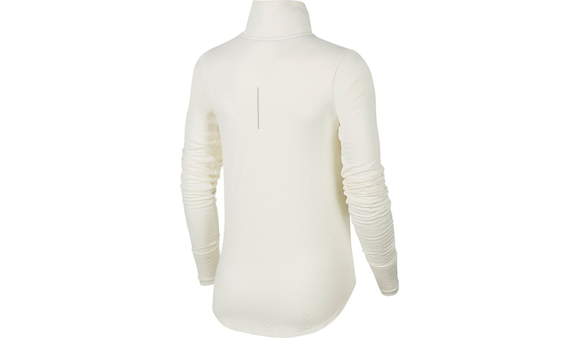 Women's Nike Sphere Element Half Zip Top - Color: Sail/Reflective Silver Size: XS, Sail/Reflective Silver, large, image 2