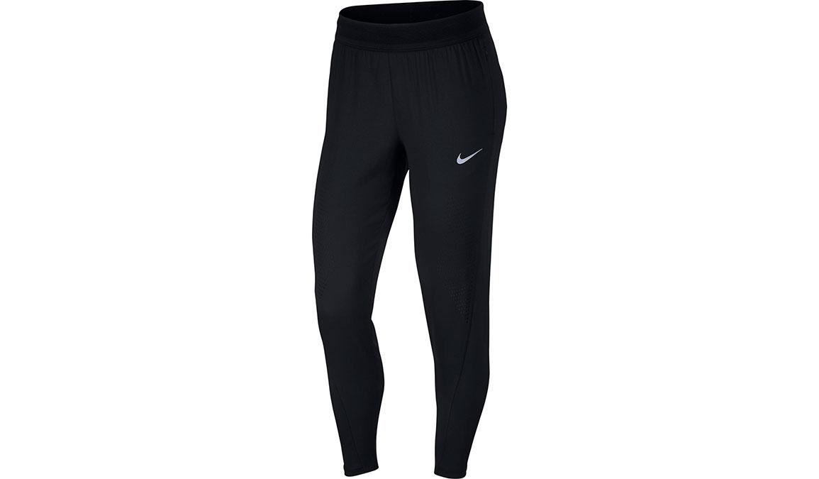 Women's Nike Swift Running Pants - Color: Black/Reflective Silver Size: XS, Black/Reflective Silver, large, image 1