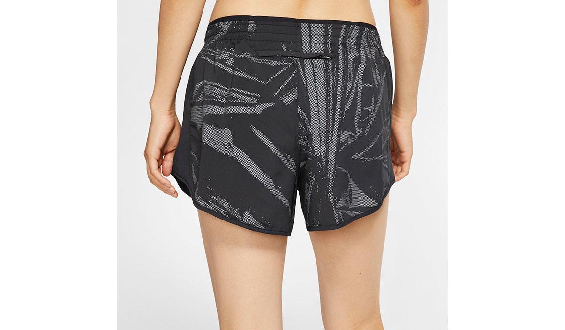 Women's Nike Tempo Shorts - Color: Black/Reflective Silver Size: XXL, Black/Reflective Silver, large, image 4