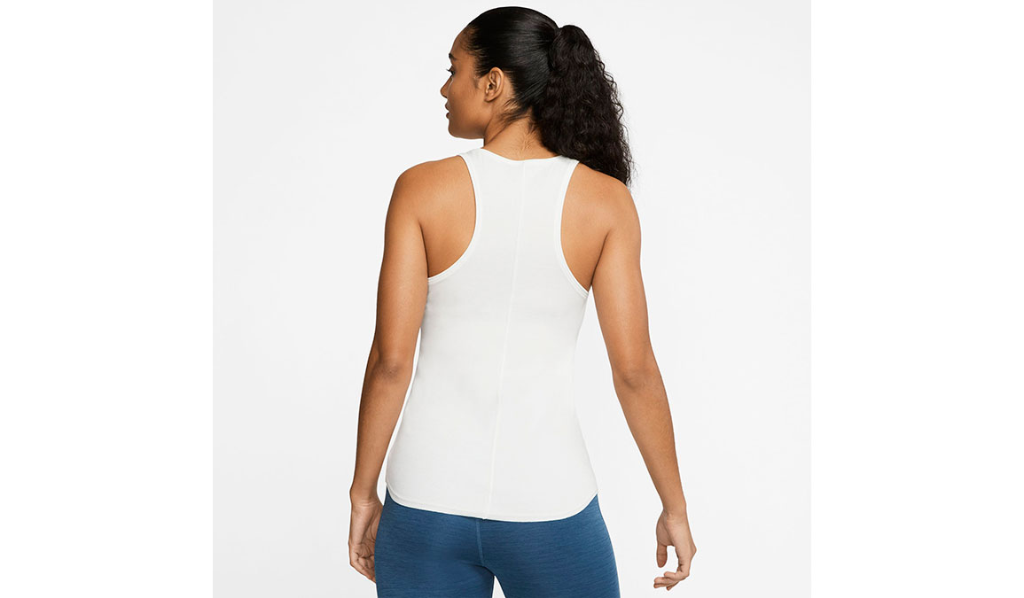 Women's Nike Yoga Luxe Tank - Color: Summit White Size: XS, Summit White, large, image 2