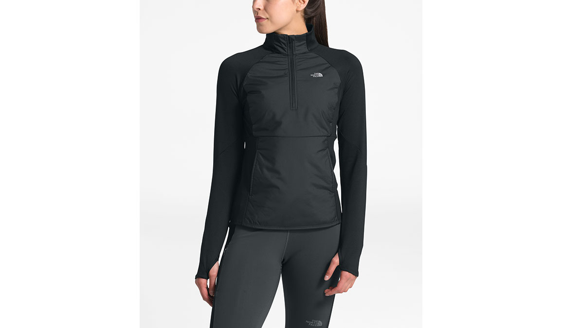 Women's North Face Winter Warm Insulated Pullover - Color: Black Size: L, Black, large, image 1