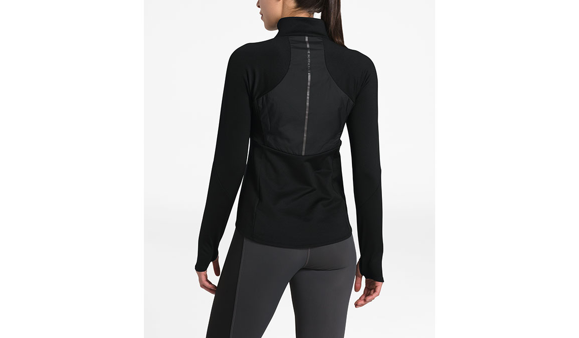 Women's North Face Winter Warm Insulated Pullover - Color: Black Size: L, Black, large, image 2