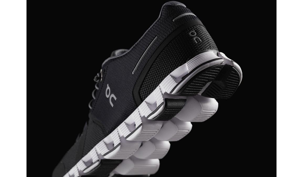 Women's On Cloud Running Shoe - Color: Black/White (Regular Width) - Size: 6.5, Black/White, large, image 5