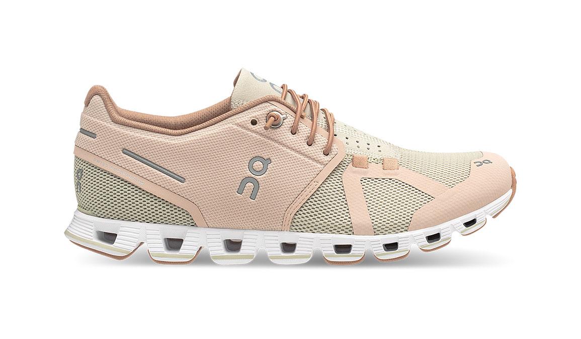 Women's On Cloud Running Shoes - Color: Rose/Sand (Regular Width) - Size: 5, Rose/Sand, large, image 1