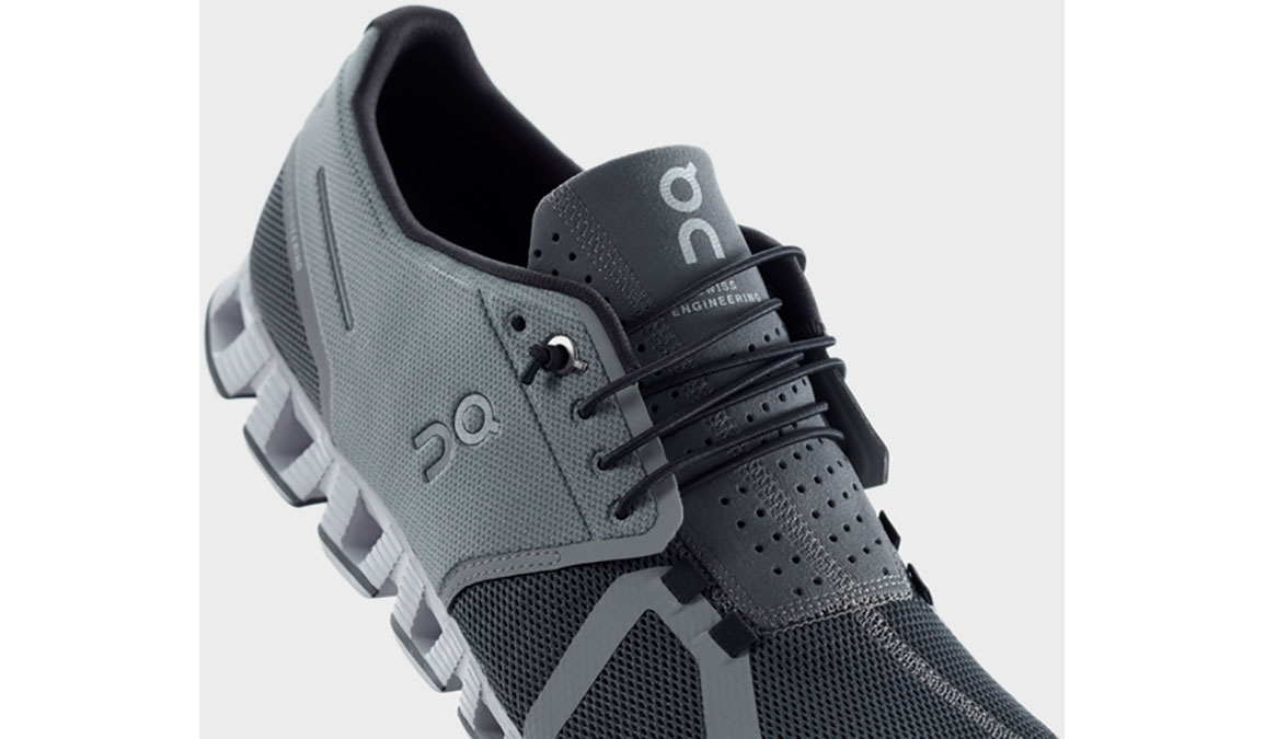 Women's On Cloud Running Shoes - Color: Slate/Rock (Regular Width) - Size: 5, Slate/Rock, large, image 4
