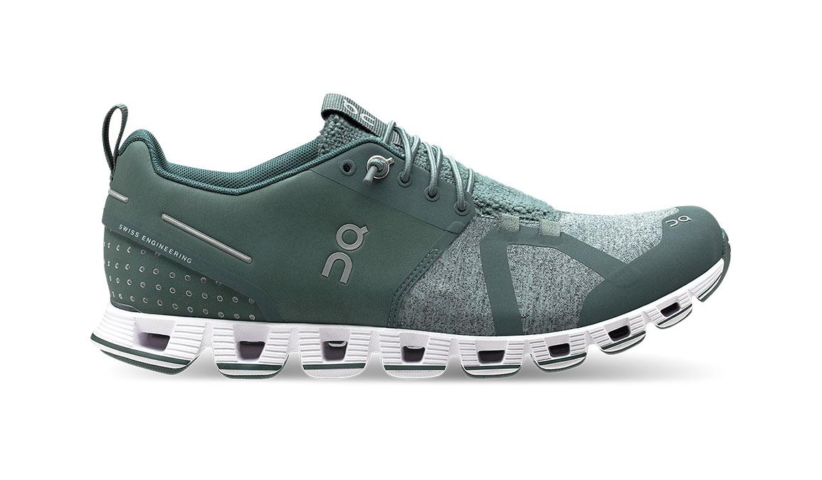 Women's On Cloud Terry Running Shoe - Color: Olive (Regular Width) - Size: 5, Olive, large, image 1