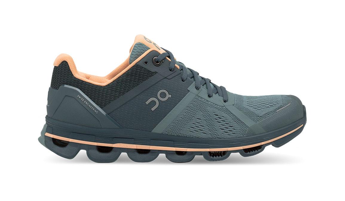 Women's On Cloudace Running Shoe - Color: Sea/Almond (Regular Width) - Size: 7.5, Sea, large, image 1