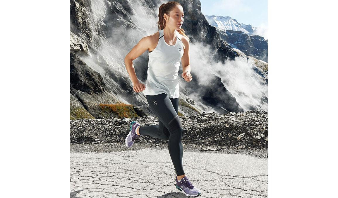 Women's On Cloudflow Running Shoe - Color: Violet/Tide (Regular Width) - Size: 6.5, Violet, large, image 3