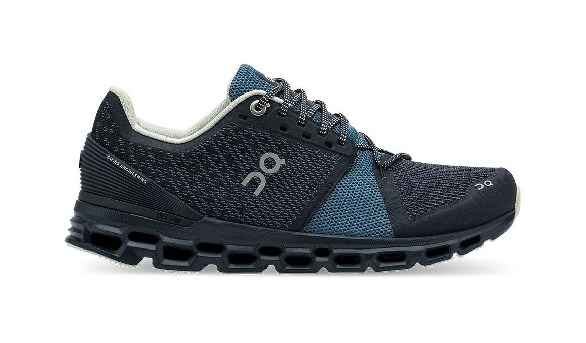 Women's On Cloudstratus Running Shoe - Color: Navy/Dust (Regular Width) - Size: 10.5, Navy, large, image 1