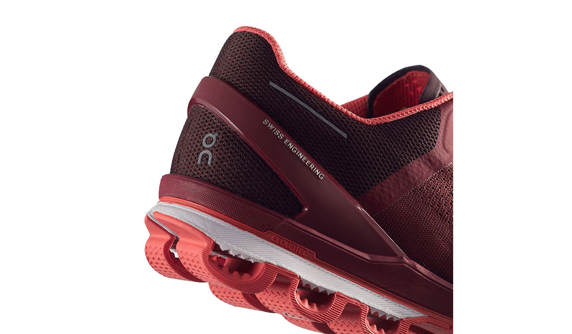 Women's On Cloudsurfer Running Shoe - Color: Mulberry/Coral (Regular Width) - Size: 6, Mulberry, large, image 4