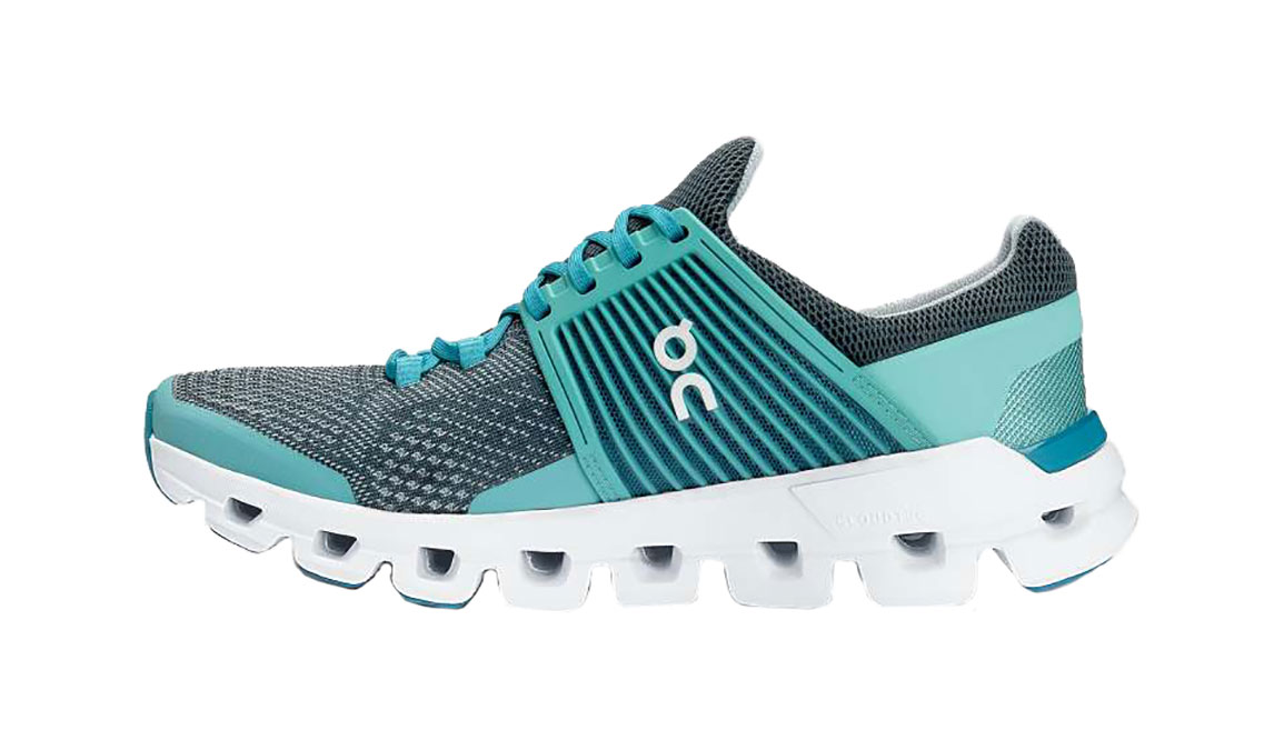 Women's On Cloudswift Running Shoe - Color: Teal/Storm (Regular Width) - Size: 6.5, Teal, large, image 2
