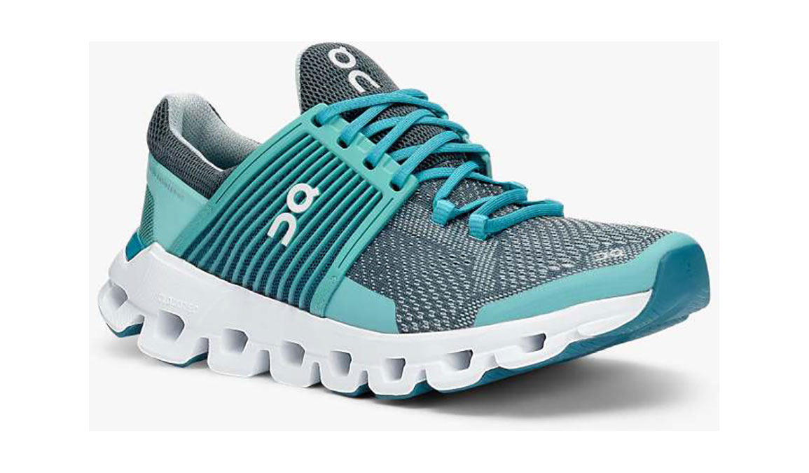 Women's On Cloudswift Running Shoe - Color: Teal/Storm (Regular Width) - Size: 6.5, Teal, large, image 3