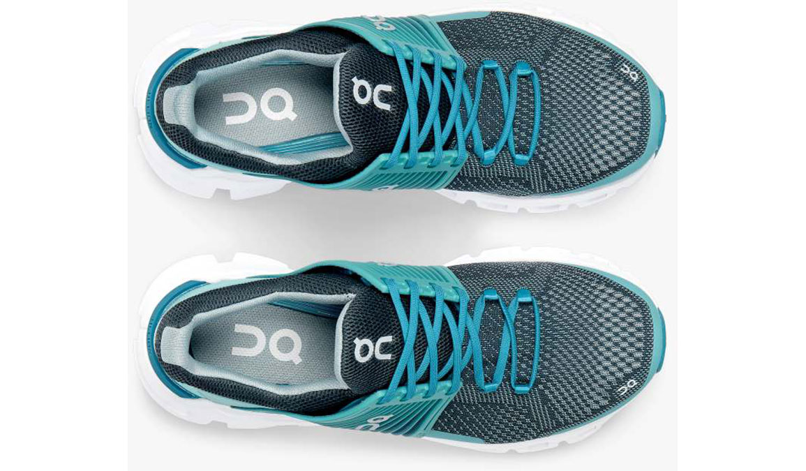 Women's On Cloudswift Running Shoe - Color: Teal/Storm (Regular Width) - Size: 6.5, Teal, large, image 4