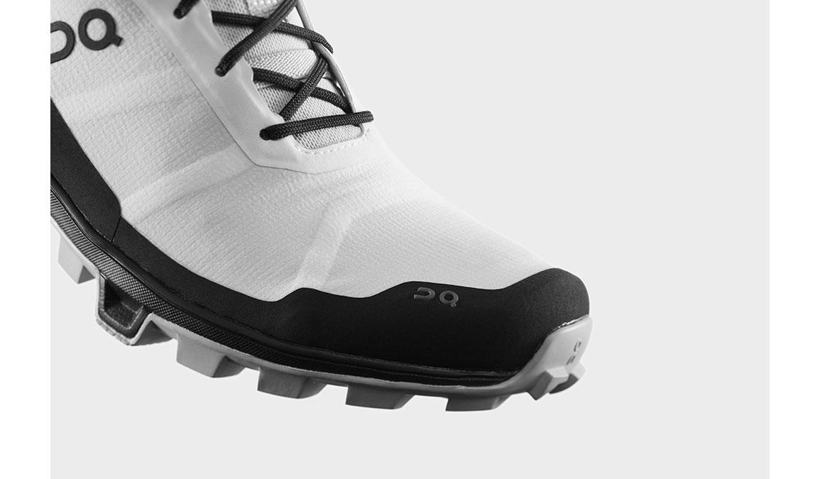 Women's On Cloudventure Peak Trail Running Shoe - Color: White/Black (Regular Width) - Size: 6.5, White/Black, large, image 2