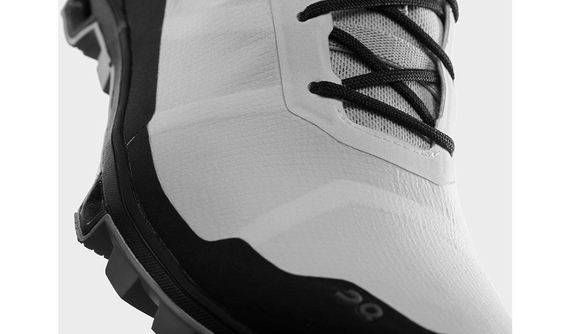 Women's On Cloudventure Peak Trail Running Shoe - Color: White/Black (Regular Width) - Size: 6.5, White/Black, large, image 3