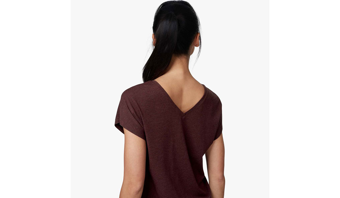 Women's On Comfort T  - Color: Mulberry Size: XS, Mulberry, large, image 2