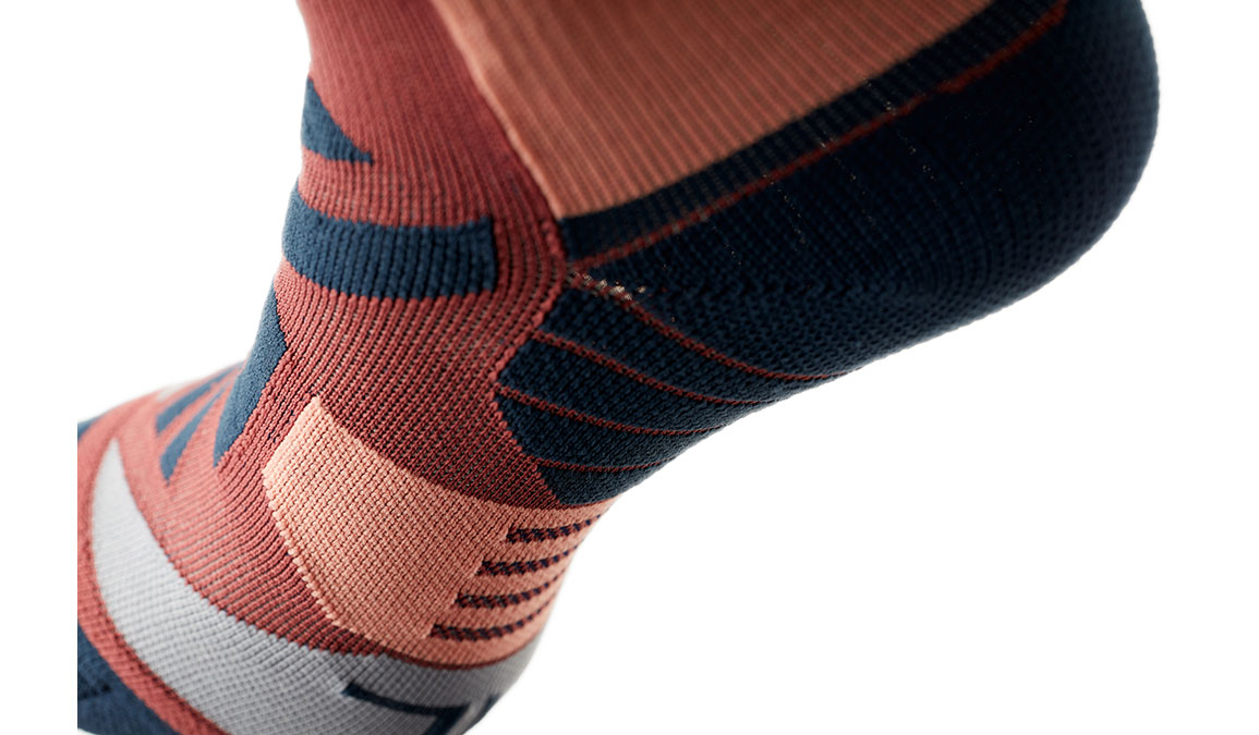 Women's On High Sock - Color: Ox/Navy Size: XS, Red/Navy, large, image 7