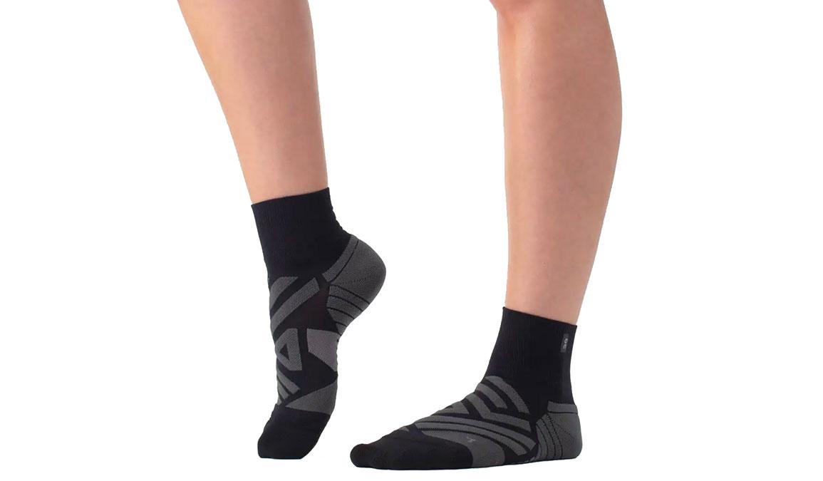 Women's On Mid Sock - Color: Black Size: XS, Black, large, image 1