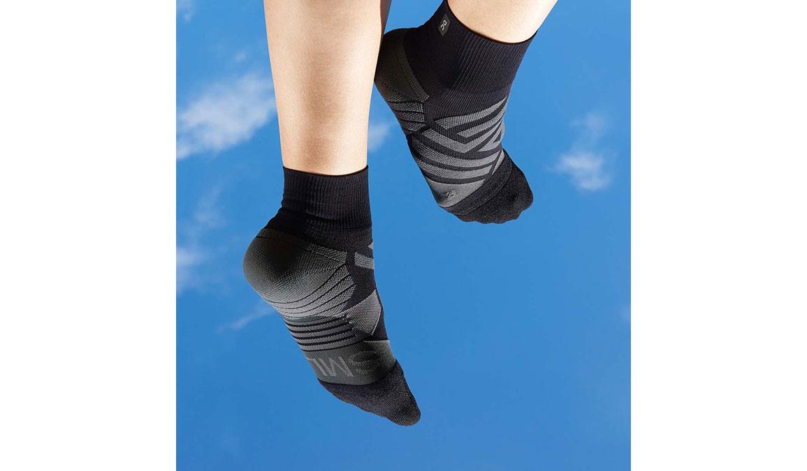 Women's On Mid Sock - Color: Black Size: XS, Black, large, image 2