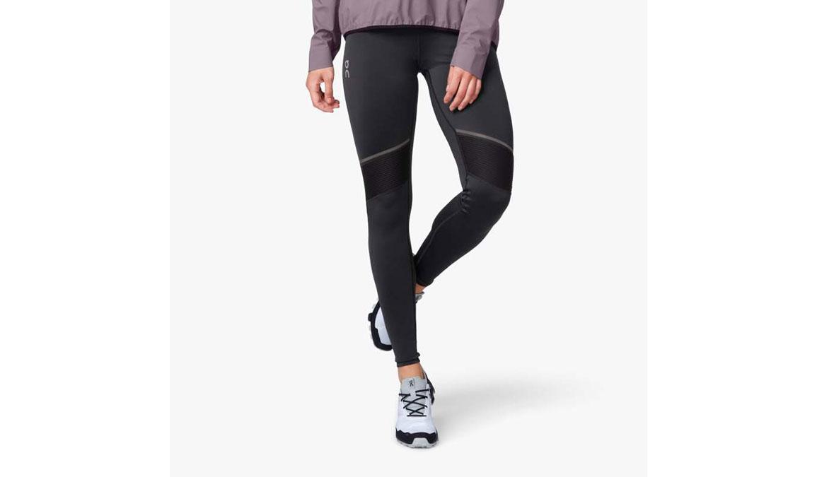 Women's On Tights Long - Color: Black Size: M, Black/Grey, large, image 1