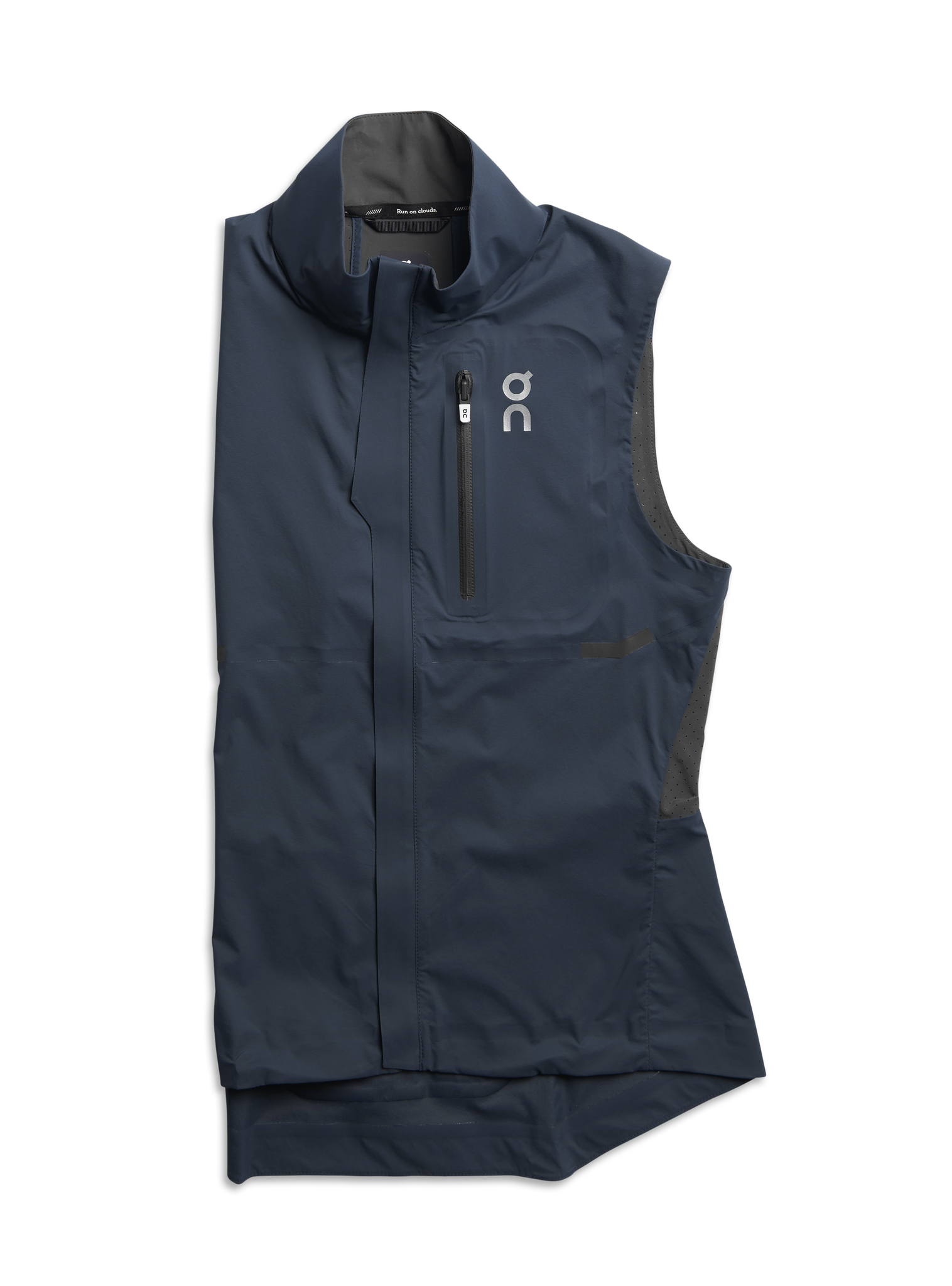 Women's On Weather-Vest - Color: Navy/Shadow Size: M, Navy, large, image 1