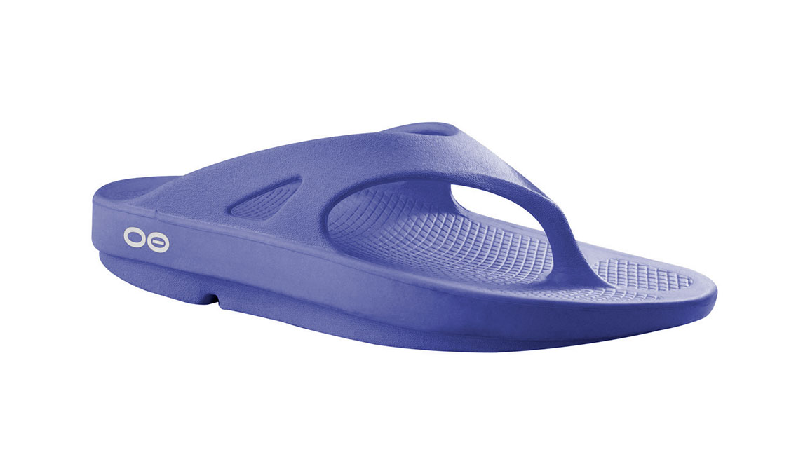 Oofos OOriginal Thong Recovery Sandal - Color: Periwinkle - Size: M8/W10, Periwinkle, large, image 1
