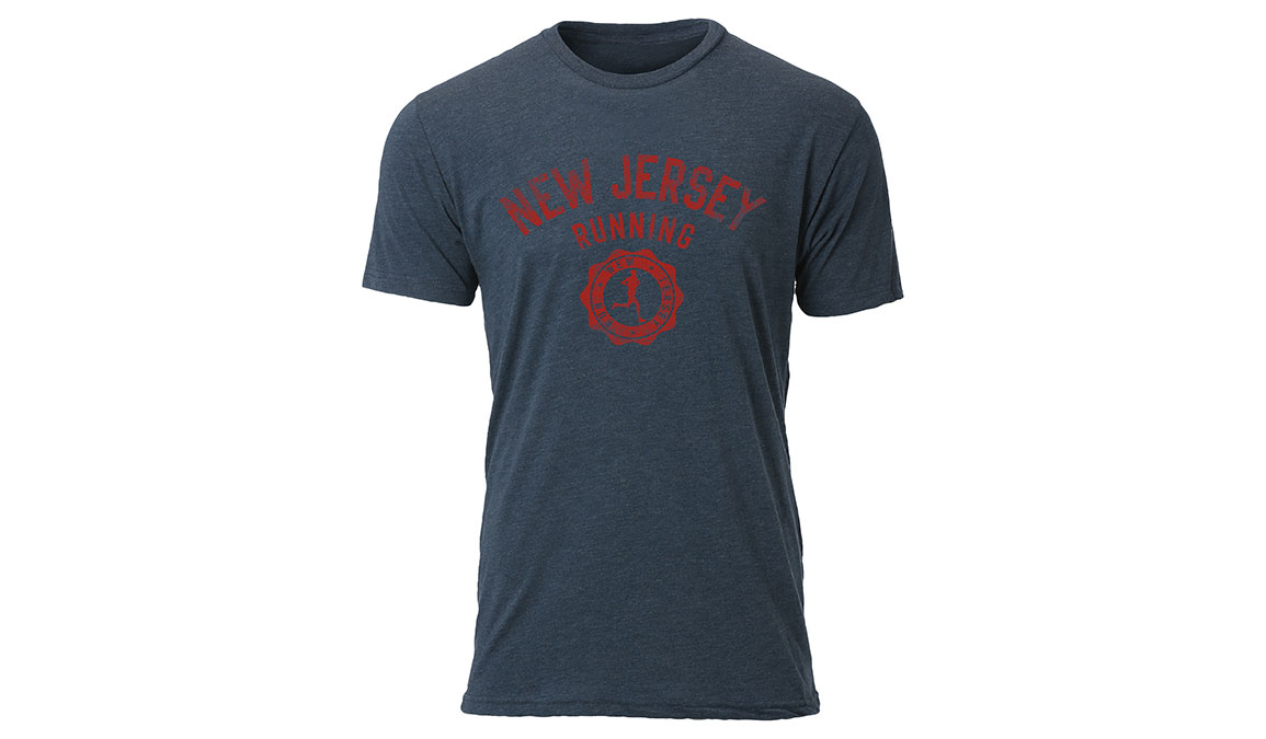 Women's Ouray New Jersey Vintage Seal Tee - Color: Navy Size: S, Navy, large, image 1