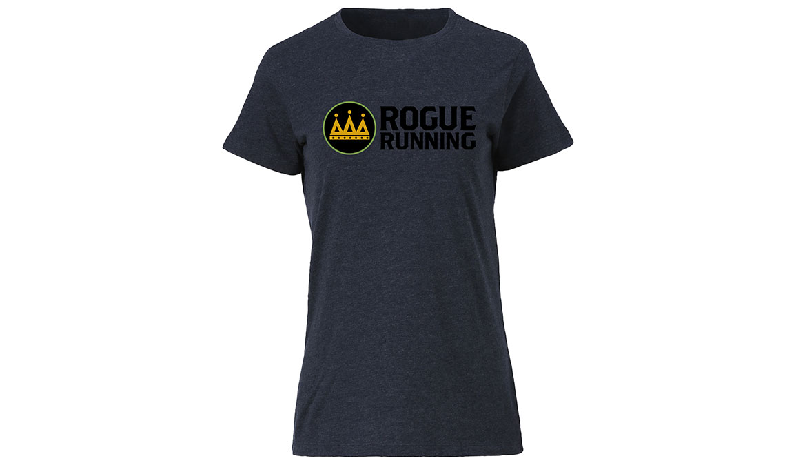 Women's Ouray Rogue Running Shirt  - Color: Vintage Navy Size: S, Navy, large, image 2