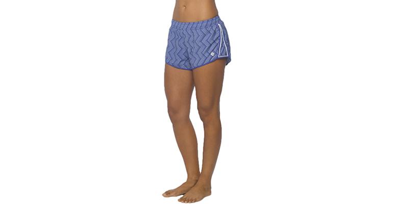 Women's Prana Poppy Short 2.5 Inch - Color: Sail Blue - Size: L, Blue, large, image 1