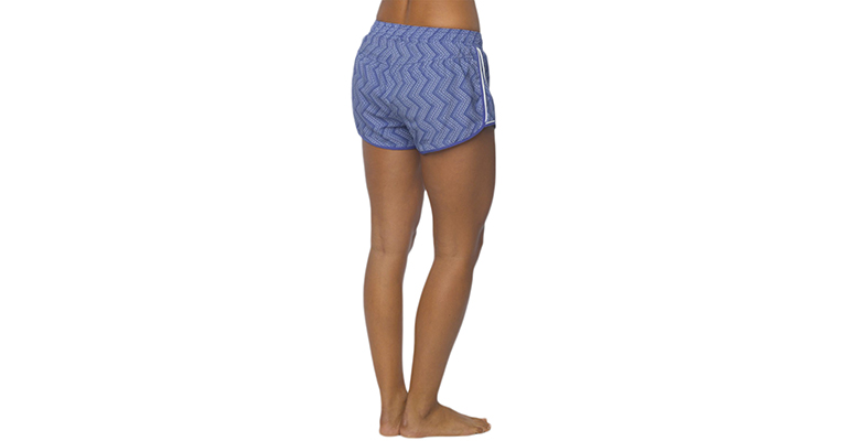 Women's Prana Poppy Short 2.5 Inch - Color: Sail Blue - Size: L, Blue, large, image 2