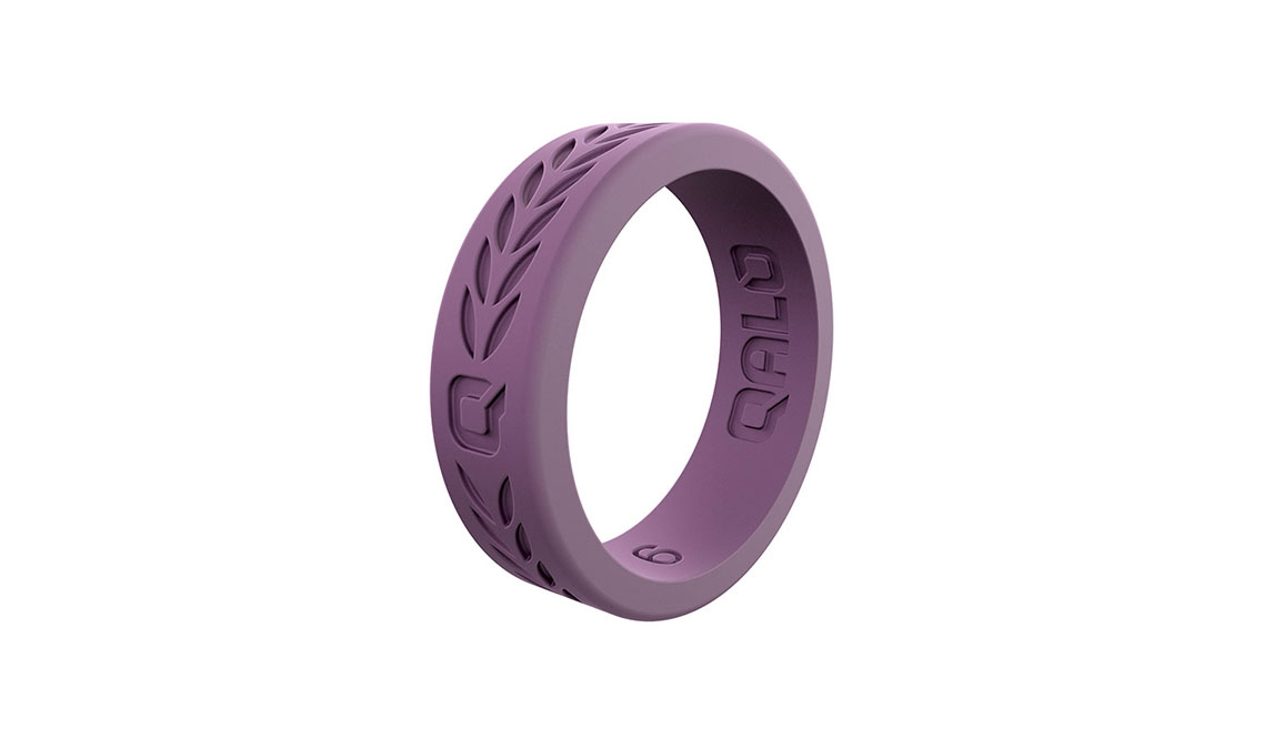 Women's Qalo Laurel Ring - Color: Lilac Size: 5, Lilac, large, image 1