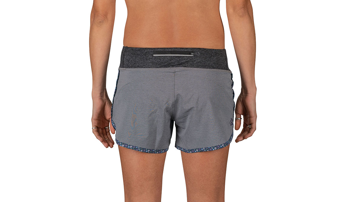 "Women's Rabbit Hopper 4"" Short - Color: Black Charcoal Size: XS, Black, large, image 3"
