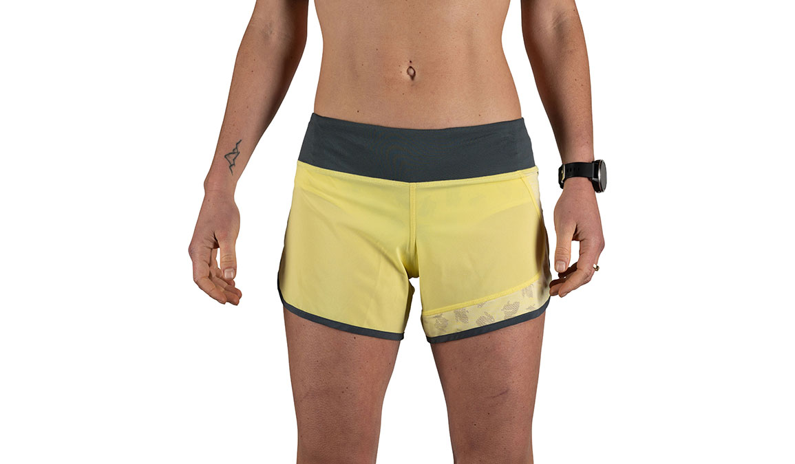 "Women's Rabbit Hopper 4"" Short - Color: Limelight Size: XS, Yellow, large, image 1"