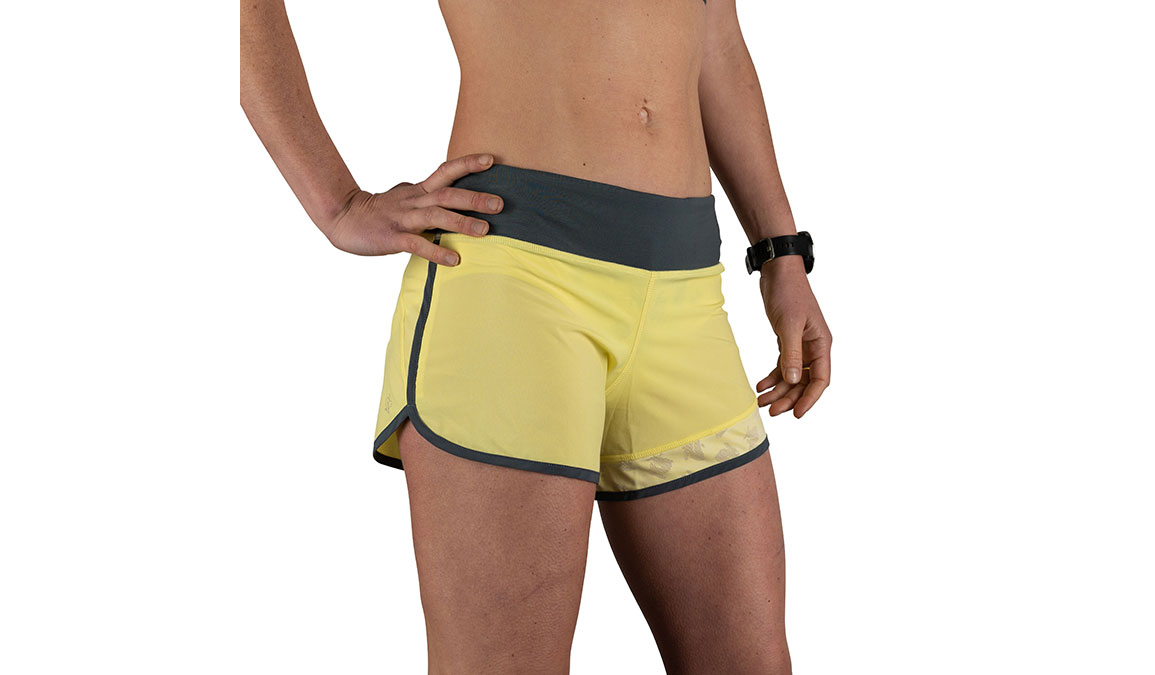 "Women's Rabbit Hopper 4"" Short - Color: Limelight Size: XS, Yellow, large, image 2"