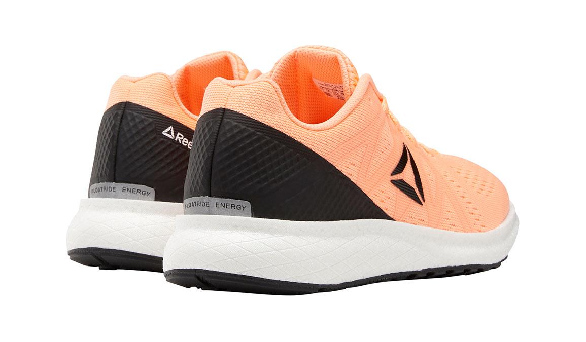 Women's Reebok Forever Floatride Energy Running Shoe - Color: Sunglow / Black (Regular Width) - Size: 7.5, Orange/Black, large, image 5