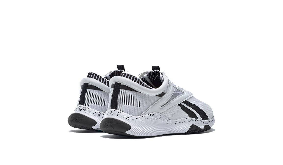 Women's Reebok HIIT TR Training Shoes - Color: White/Black/Sea (Regular Width) - Size: 5, White/Black, large, image 3
