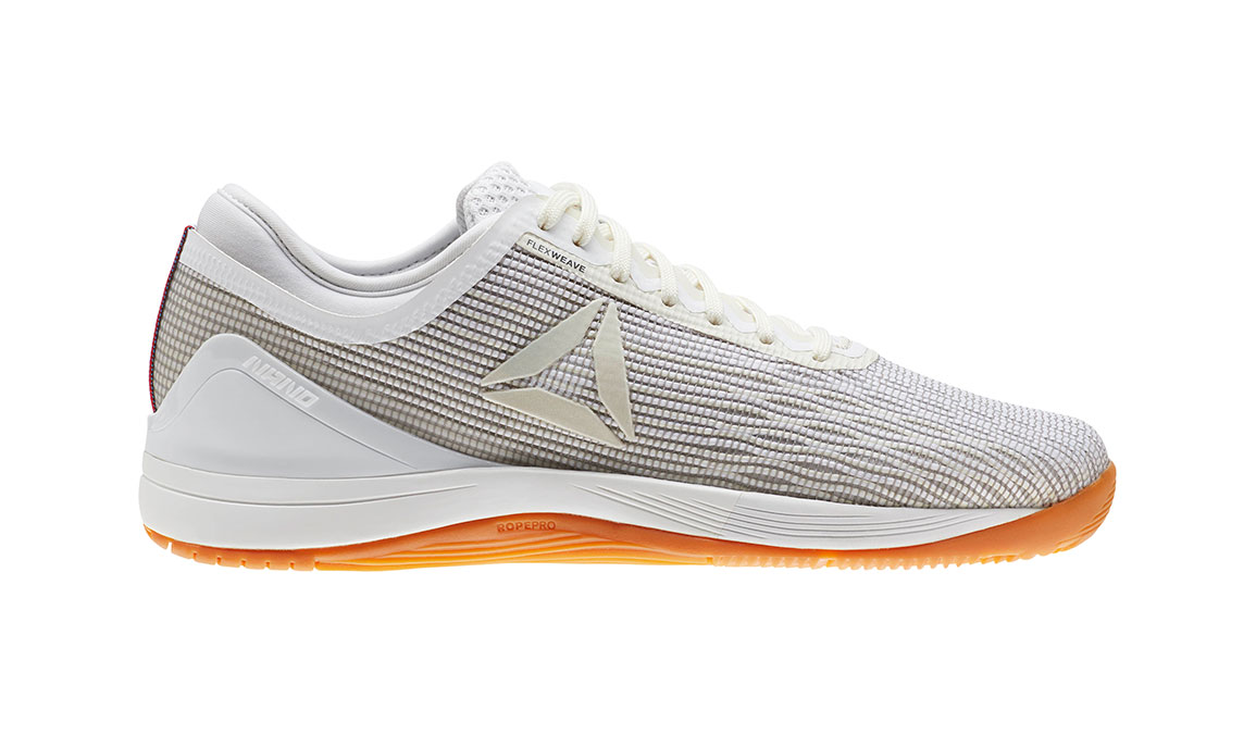 Women's Reebok Nano 8 Flexweave Training Shoes - Color: White (Regular Width) - Size: 7.5, White, large, image 1