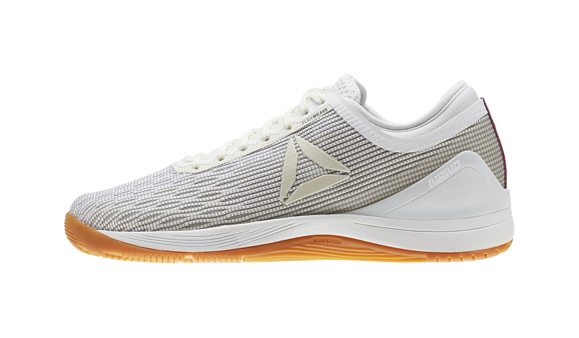 Women's Reebok Nano 8 Flexweave Training Shoes - Color: White (Regular Width) - Size: 7.5, White, large, image 3