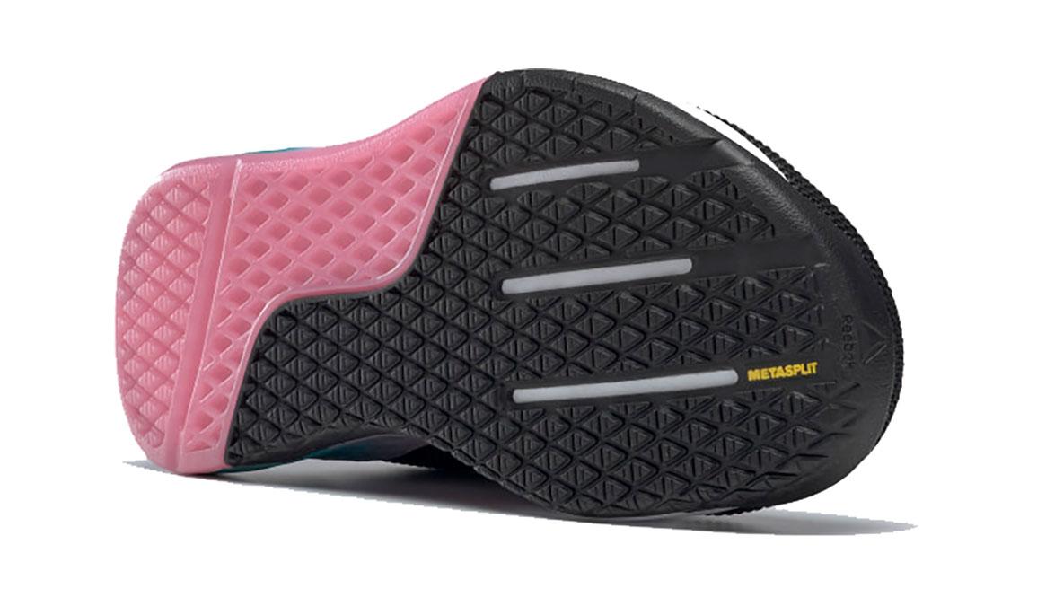 Women's Reebok Nano 9 Training Shoes - Color: Black/Cold Grey (Regular Width) - Size: 6, Black/Grey, large, image 4