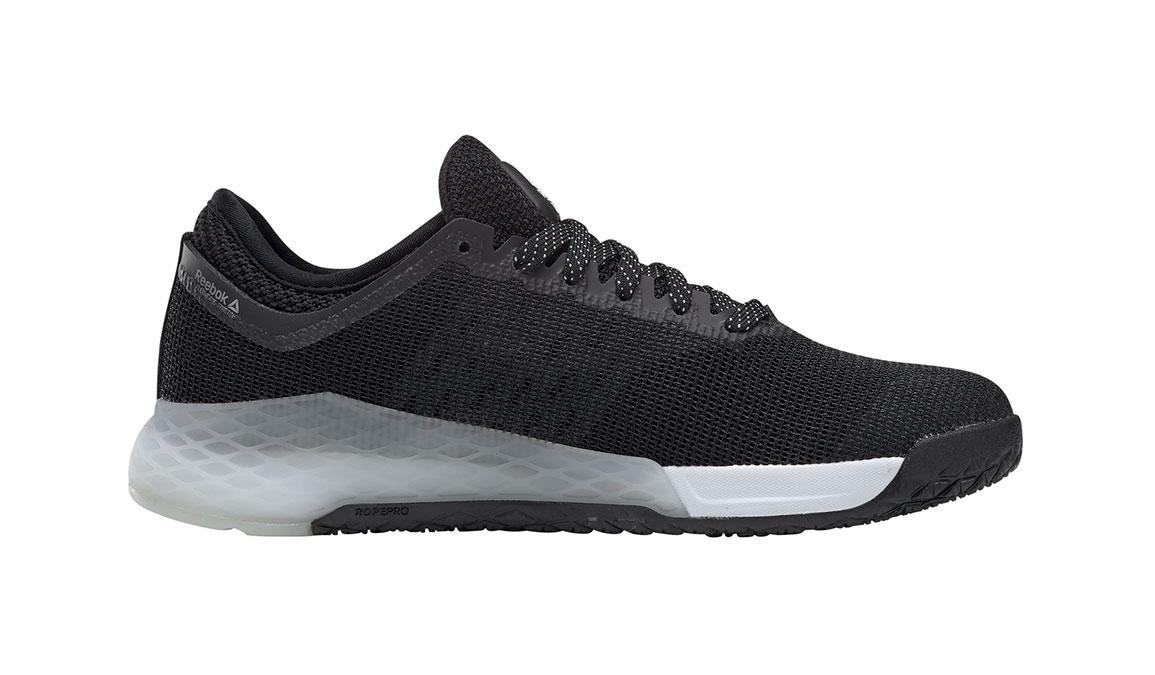 Women's Reebok Nano 9 Training Shoes - Color: Black/White (Regular Width) - Size: 5.5, Black/White, large, image 3