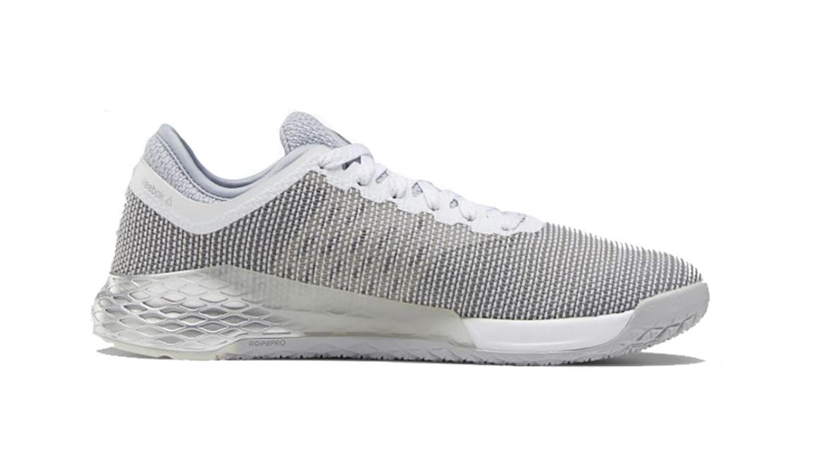 Men's Reebok Nano 9 Training Shoes - Color: Cold Grey 2/Silver Met./White (Regular Width) - Size: 6, Grey, large, image 2