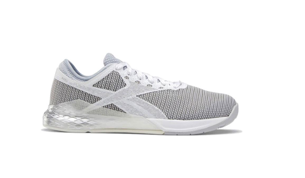 Men's Reebok Nano 9 Training Shoes - Color: Cold Grey 2/Silver Met./White  (Regular Width) - Size: 6, Grey, large, image 1