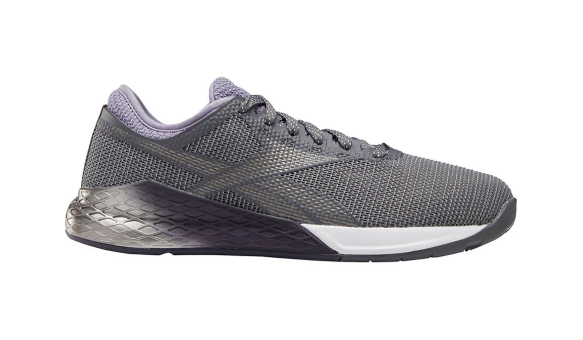 Men's Reebok Nano 9 Training Shoes - Color: Cold Grey/Violet Haze/White (Regular Width) - Size: 8.5, Grey/Purple, large, image 1