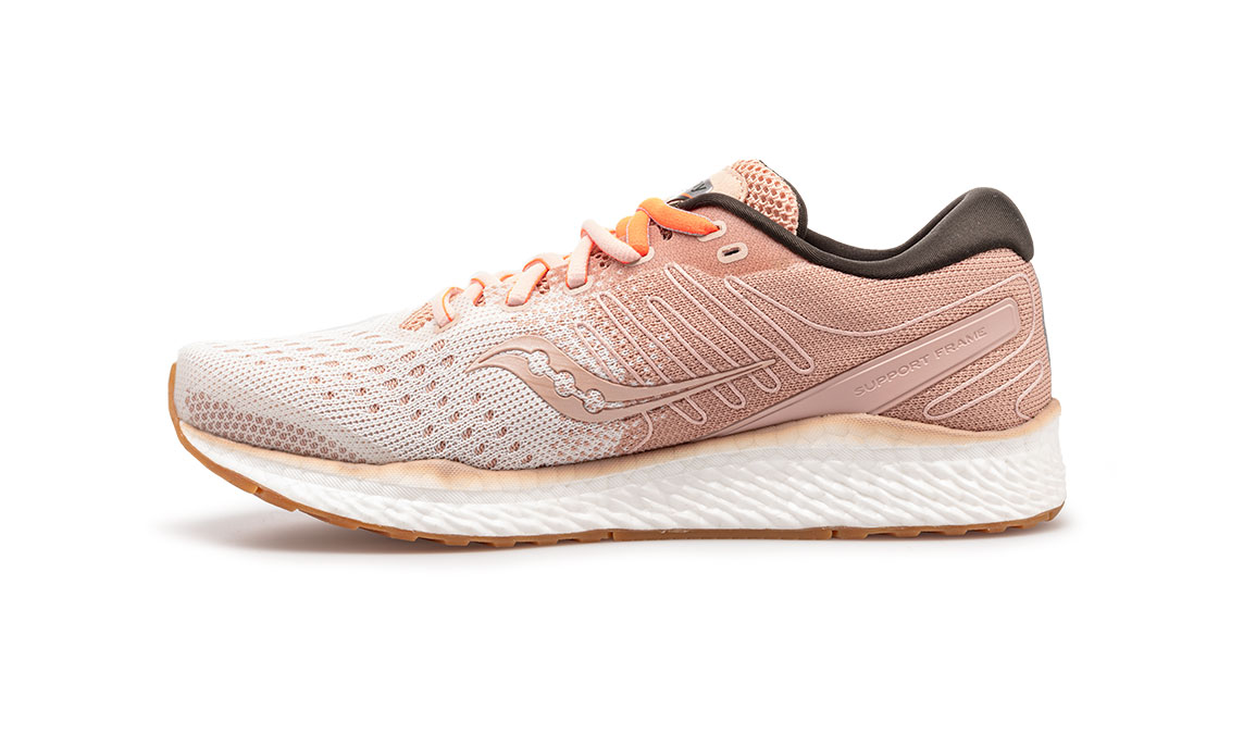 Women's Saucony Freedom 3 Jackalope Running Shoe - Color: Jackalope (Regular Width) - Size: 8, Pink, large, image 3