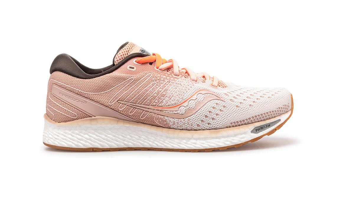 Women's Saucony Freedom 3 Jackalope Running Shoe - Color: Jackalope (Regular Width) - Size: 8, Pink, large, image 1