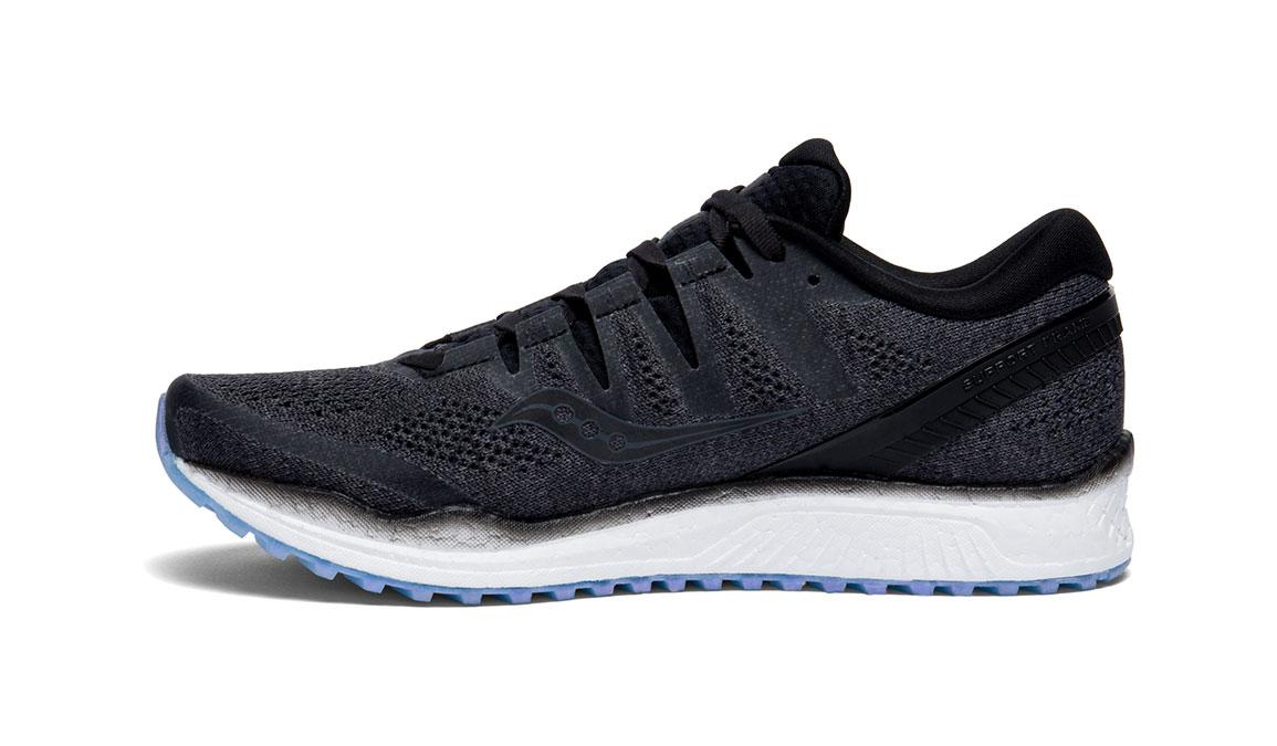 Women's Saucony Freedom ISO 2 Running Shoe - Color: Black (Regular Width) - Size: 10, Black, large, image 2