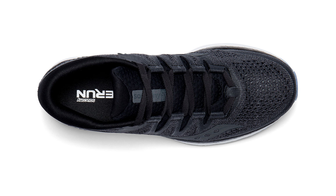 Women's Saucony Freedom ISO 2 Running Shoe - Color: Black (Regular Width) - Size: 10, Black, large, image 3